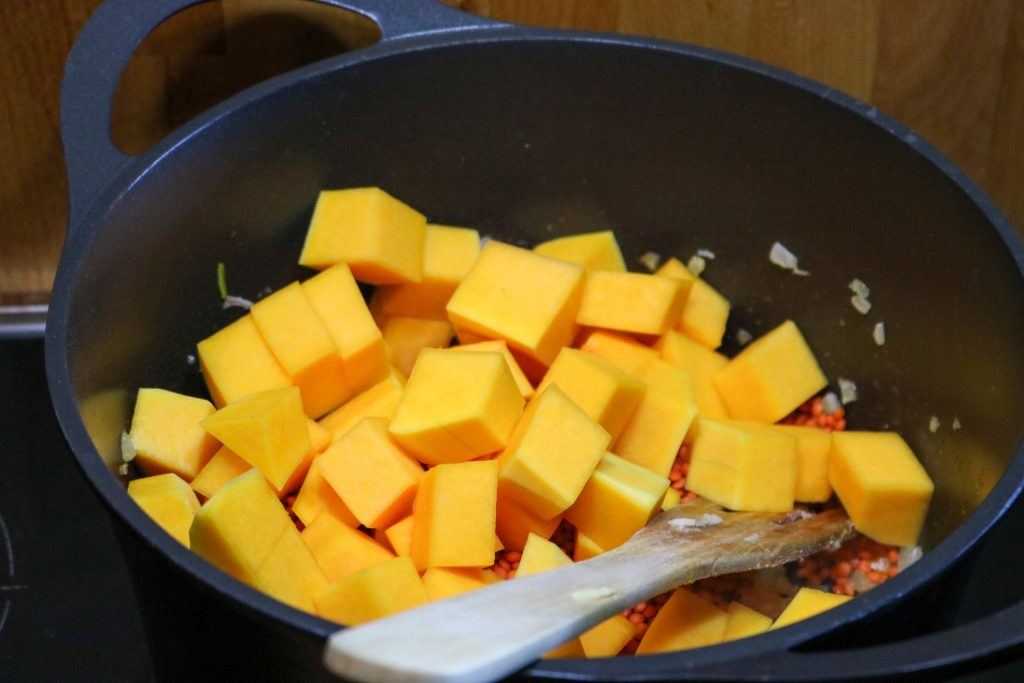 Add Butternut Squash