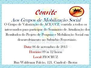 Convite Fiocruz