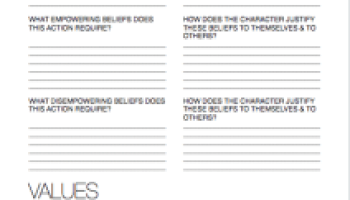 Printables Character Motivation Worksheet character quirks writing worksheet wednesday motivation