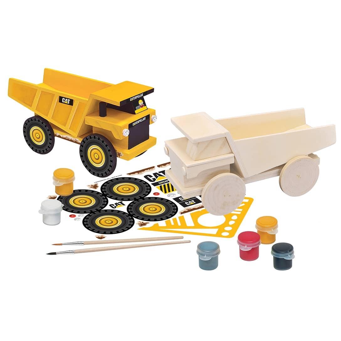 Paint Your Own Dump Truck