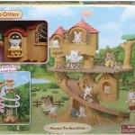 Calico Critters Adventure Tree House Gift Set A2z Science Learning Toy Store