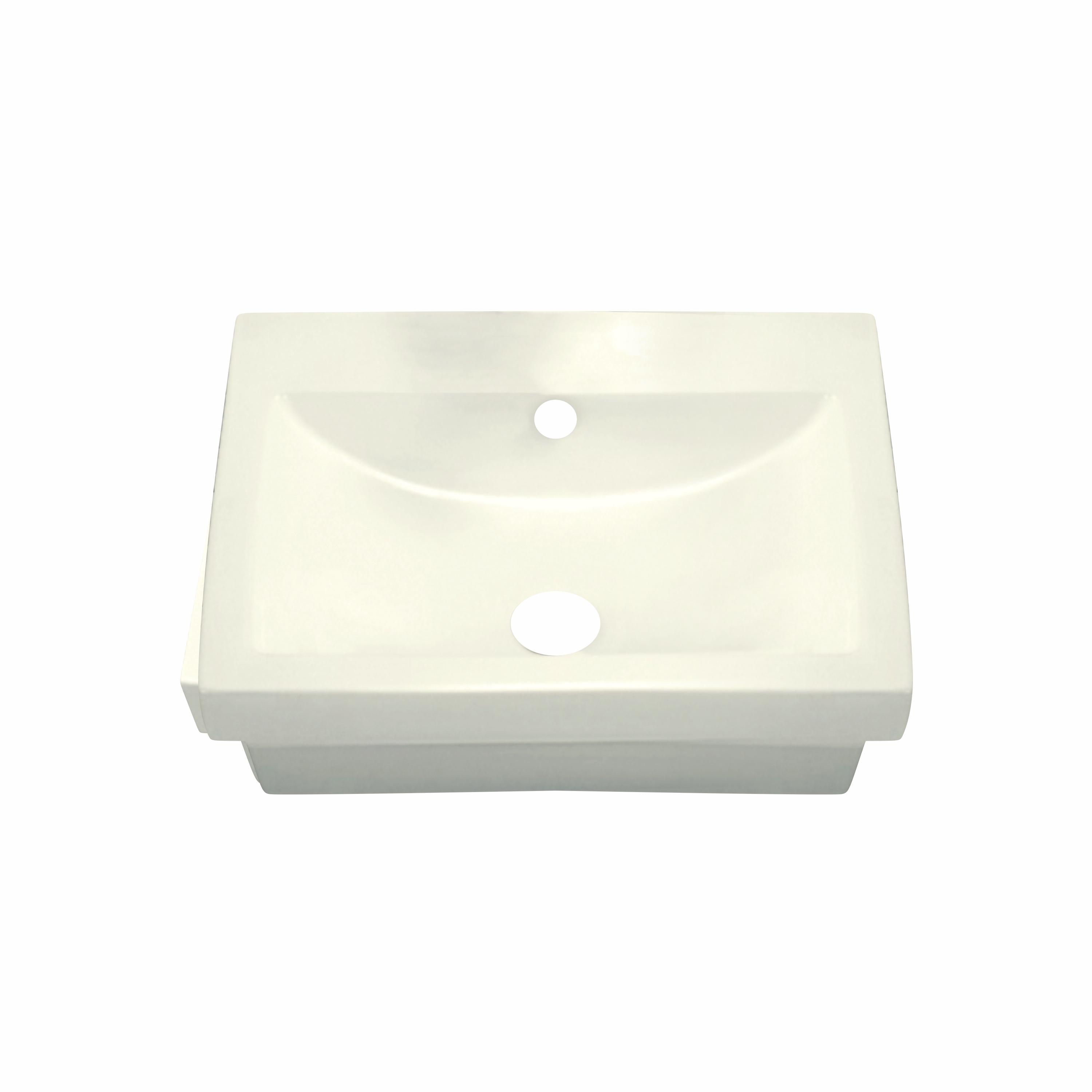 moby rectangular shaped drop in or vessel sink 21 1 2 x 18 x 6 3 4 ivory porcelain ch650 delray