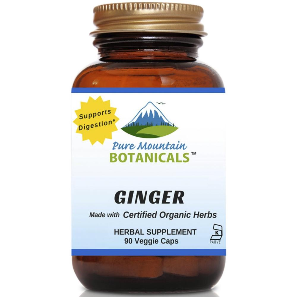 Pure Mountain Botanicals Ginger