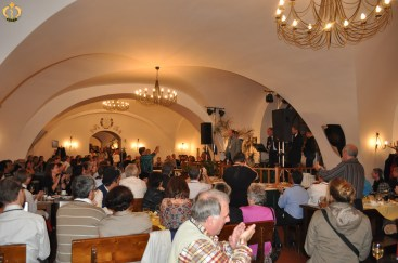 The gala dinner after the EAFP conference in Prague. Photo B.Gorgoglione.
