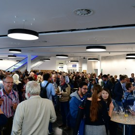 The welcome reception, hosted by the Agri-Food Biosciences Institute, in Belfast Waterfront