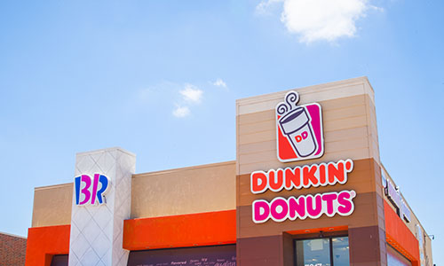 Dunkin Donuts and Baskin Robbins