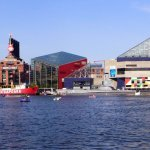 Walking around Baltimore's Inner Harbor