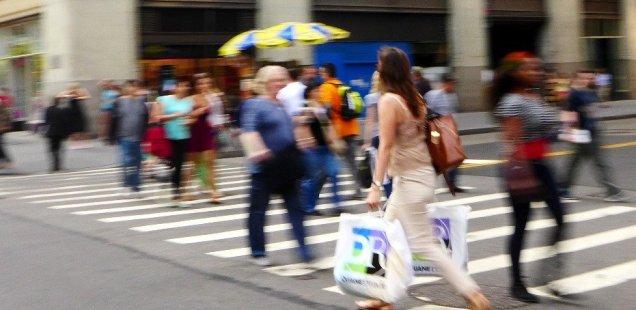 Life in Lower Manhattan, New York City