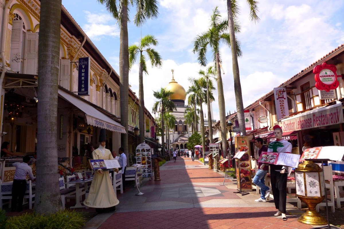 Wandering around Singapore's Kampong Glam