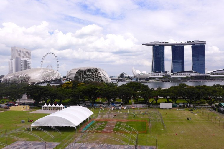 D.I.Y. Singapore Civic District Walking Tour; D.I.Y. Singapore Itinerary; D.I.Y. Singapore