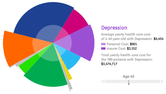 GE Cost of Healthcare Visualization