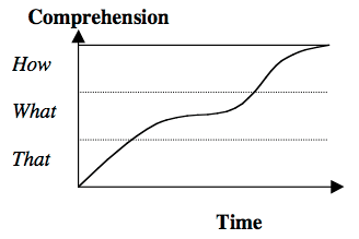 Comprehension over time - Holmquist 2004