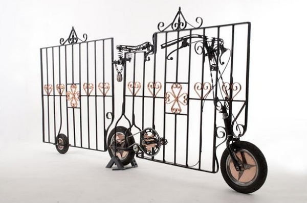 gate bicycle by Stephen Williams