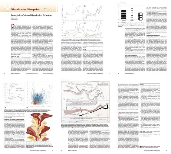 Paper: Presentation-Oriented Visualization Techniques