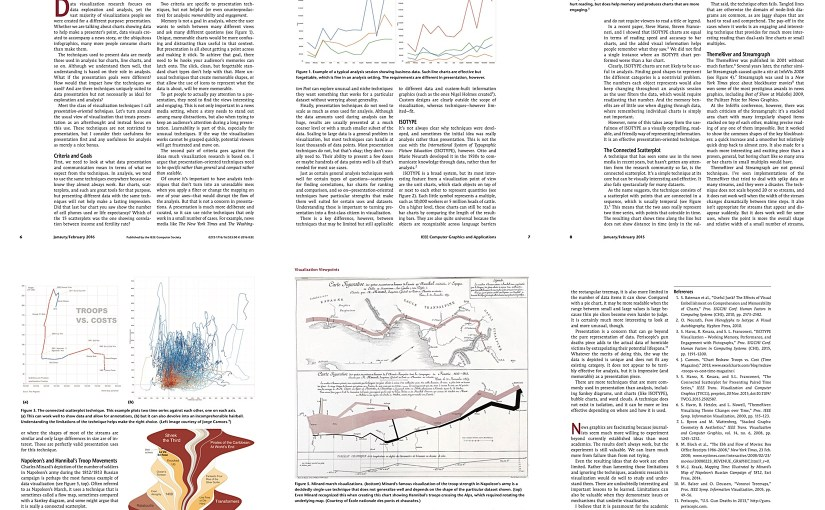 Paper: Presentation-Oriented Visualization Techniques