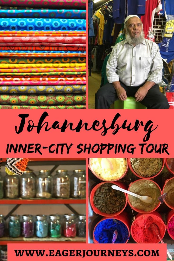 Johannesburg inner-city shopping tour