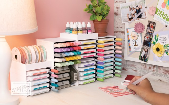Starting a Stampin' Up!® business craft space