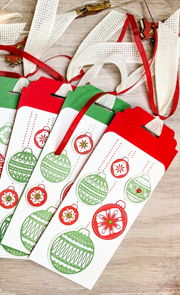 Real Red and Garden Green Gift Tags