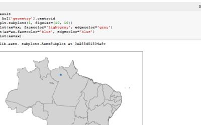 Spatial Python block course