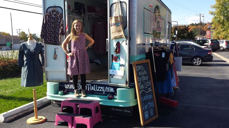 A girl on a mission. Meet Laura Layton, social entrepreneur and owner of Tin Lizzy Mobile Boutique.