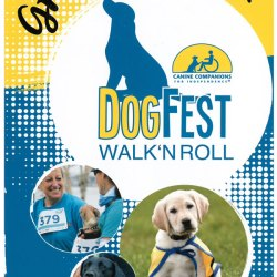 Canine Companions host DogFest Walk 'n Roll