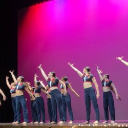 Dance Theatre performances a contemporary piece at Soaring Oscars