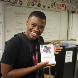 Student government delivers birthday cards to every MSD student