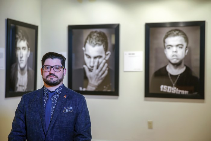 Ian Witlen's Anguish in the Aftermath Portrait Project