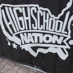 "[Video] High School Nation hosts ""Pop-up pep rally"" in the courtyard"