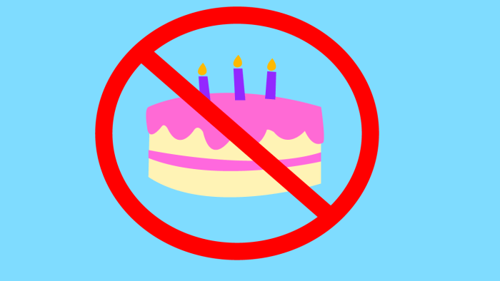 Birthday celebrations and activities canceled due to coronavirus outbreak