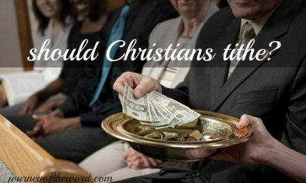 What God Told Me About Tithe Clears My Doubt