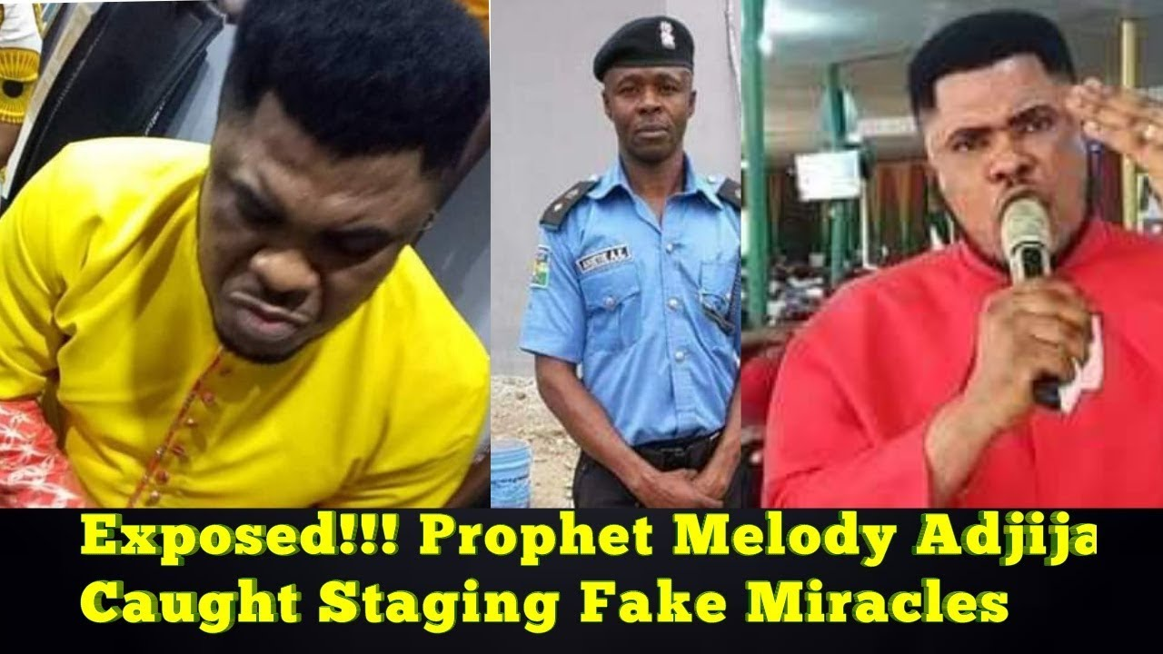 EXPOSED!!! Popular Prophet Melody Adjija Caught Staging Miracles (Video & Pictures)