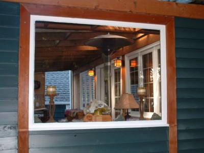 Patio window