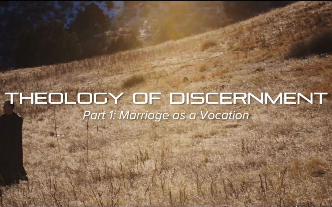 Theology of Discernment (4-part series, 42 minutes)