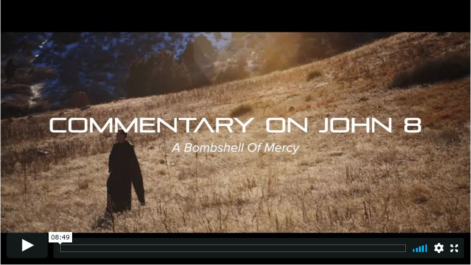 Commentary on John 8 (6-part series, 43 minutes)