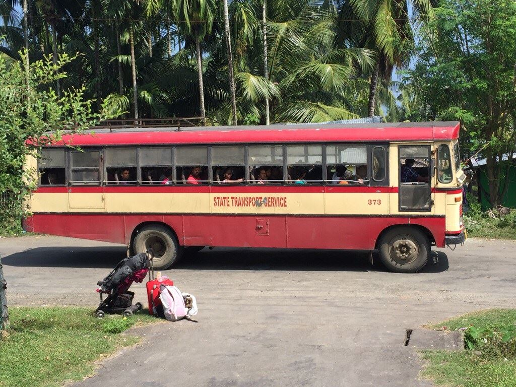 Andaman Islands getting around by bus
