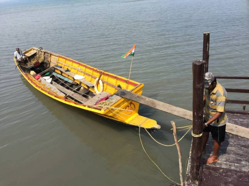 Going to Lalaji Bay, Long island, Andaman
