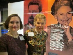 Ann Schlafly Cori and Phyllis Schlafly