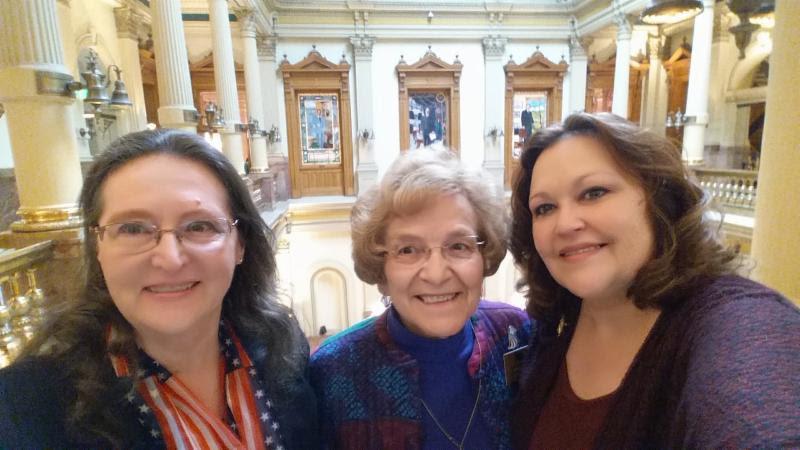 Deb Marks, Rosina Kovar and Anita Stapleton
