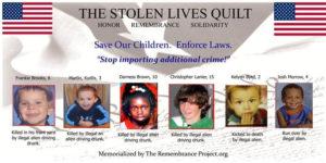 Stolen Lives Quilt project