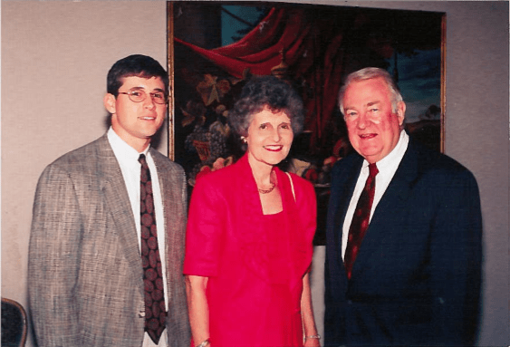 Albert Lee Smith, III, Eunie Smith and Honorable Ed Meese (former U.S. Attorney General and Chief of Staff under President Ronald Reagan). Picture taken at Alabama Policy Institute Dinner in Birmingham, AL.