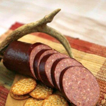 Smoke Haus Cherry Maple Elk SAUSAGE