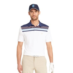 SS Golf Sport Colourblock Stripe Polo