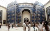 Babylonian Gate, from the time of Nebucadnezar