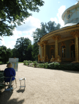 The China house in Potsdam