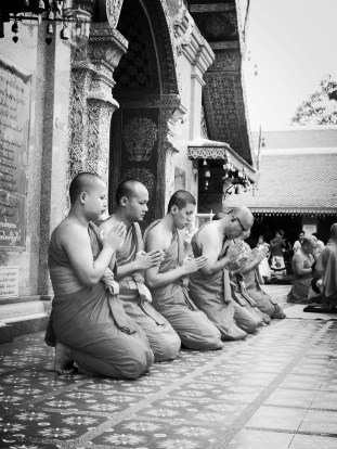 Monks in Chiang Mai