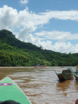 6 hour boat ride down the Mekong