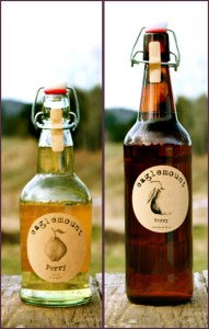 Perry (Pear Cider) from Eaglemount Winery