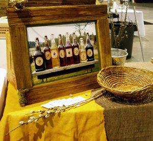 Our ciders on display at Taste of Washington.