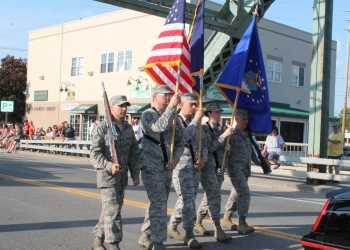 Memorial Day in Baldwinsville (File photo: Sarah Hall, 2018)